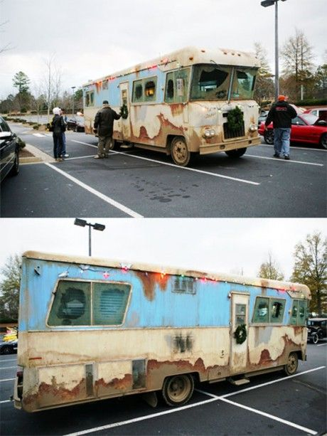 Christmas Vacation Rv.Anyone Remember Cousin Eddie S Rv From National Lampoon S