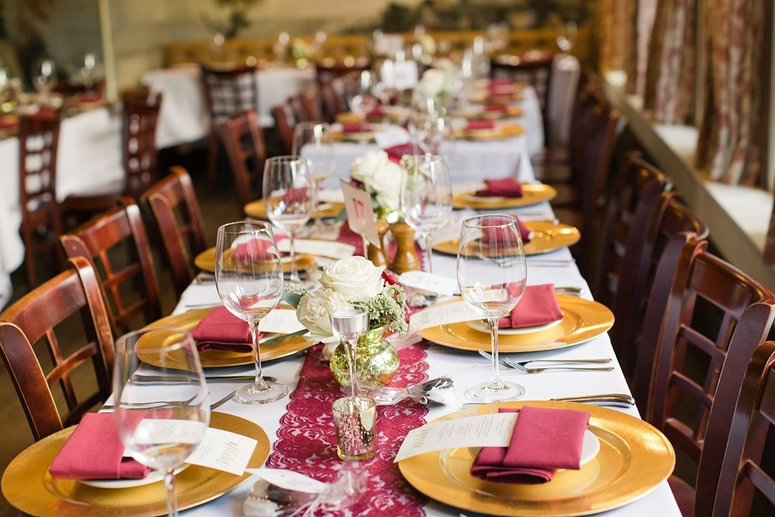 Wedding dinner decoration ideas  Mount Vernon Inn Wedding  dinner reception  Wedding Decor