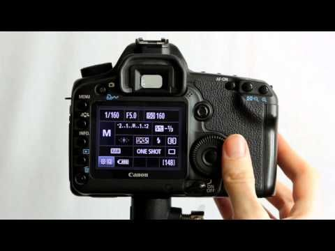 Canon EOS 5D Mark II Tutorial 11 Part 3 Custom Function