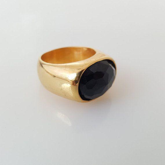 CHRISTMAS SALE 14k Gold Ring Garnet Ring Stone Ring Garnet Gold