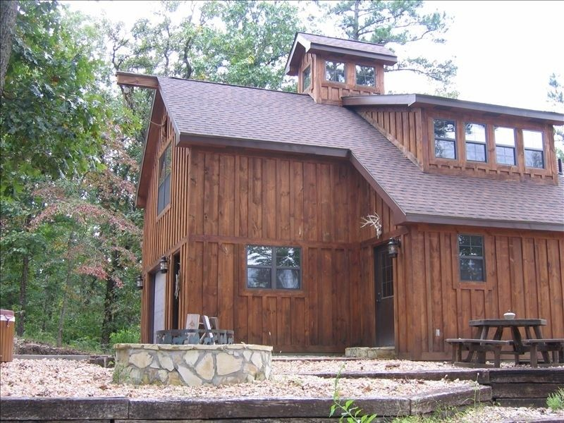 Pineville Vacation Rental   VRBO 242562   2 BR MO Cabin, Secluded Cabin On  Big