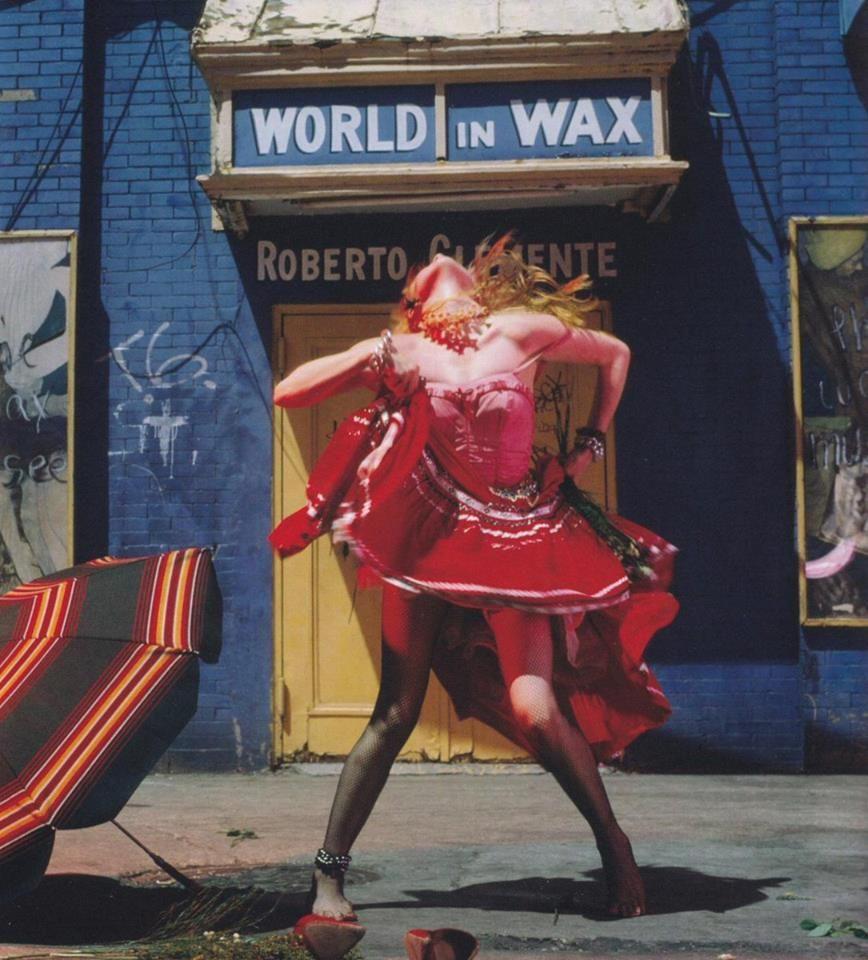Cyndi Lauper, fotografiada por Annie Leibovitz (1983