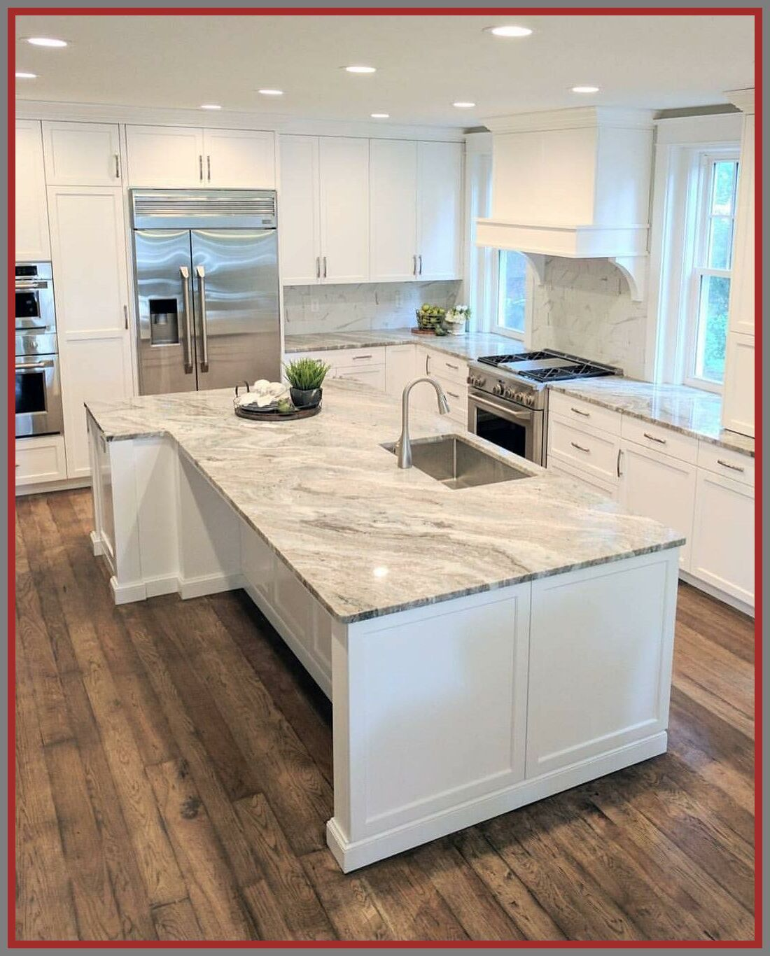 114 Reference Of Best Countertops 2019 In 2020 White Kitchen