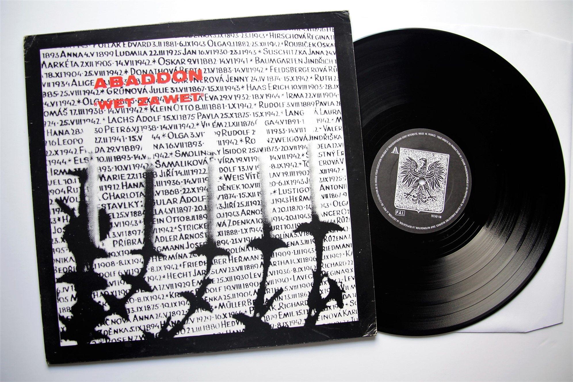 Abaddon Wet Za Wet Lp Francja 1986 Oryginal 6614512535 Oficjalne Archiwum Allegro Wet Oskar Music Record