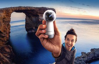 Improved Gear 360 Camera Launches Thursday With An Attractive New Price 360 Camera Cool Things To Buy Samsung