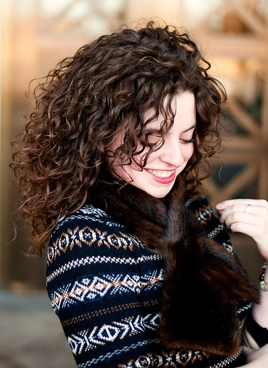 Winter Glam Hair styles Pinterest Curly hair styles Hair and