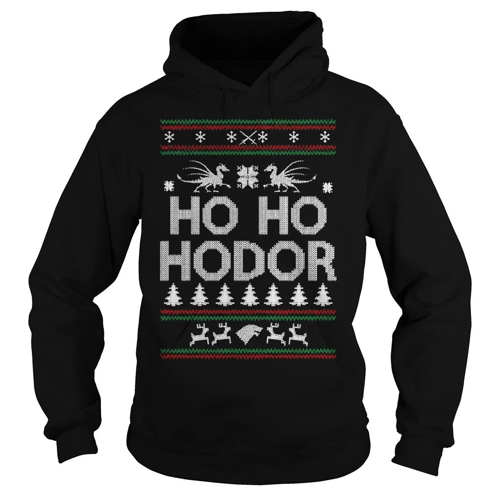 Game of Thrones, Hodor, Ugly Christmas Sweater Party, Hodor Ugly Christmas Sweater, Christmas Sweatshirt, Ho Ho Hodor, Christmas Jumper