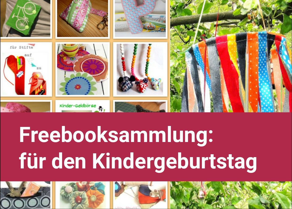 freebooksammlung n hideen f r den kindergeburtstag. Black Bedroom Furniture Sets. Home Design Ideas