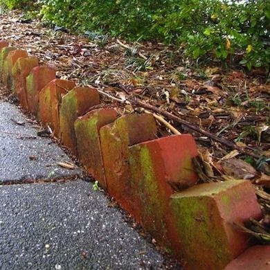 On The Edge 11 Garden Borders You Can Make Brick Garden Edging