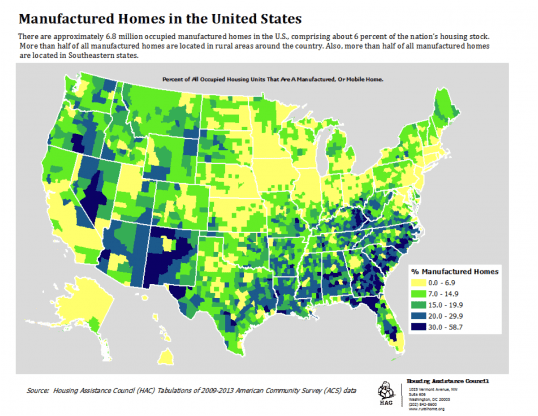 Buying mobile home tips... Map of Manufactured Home