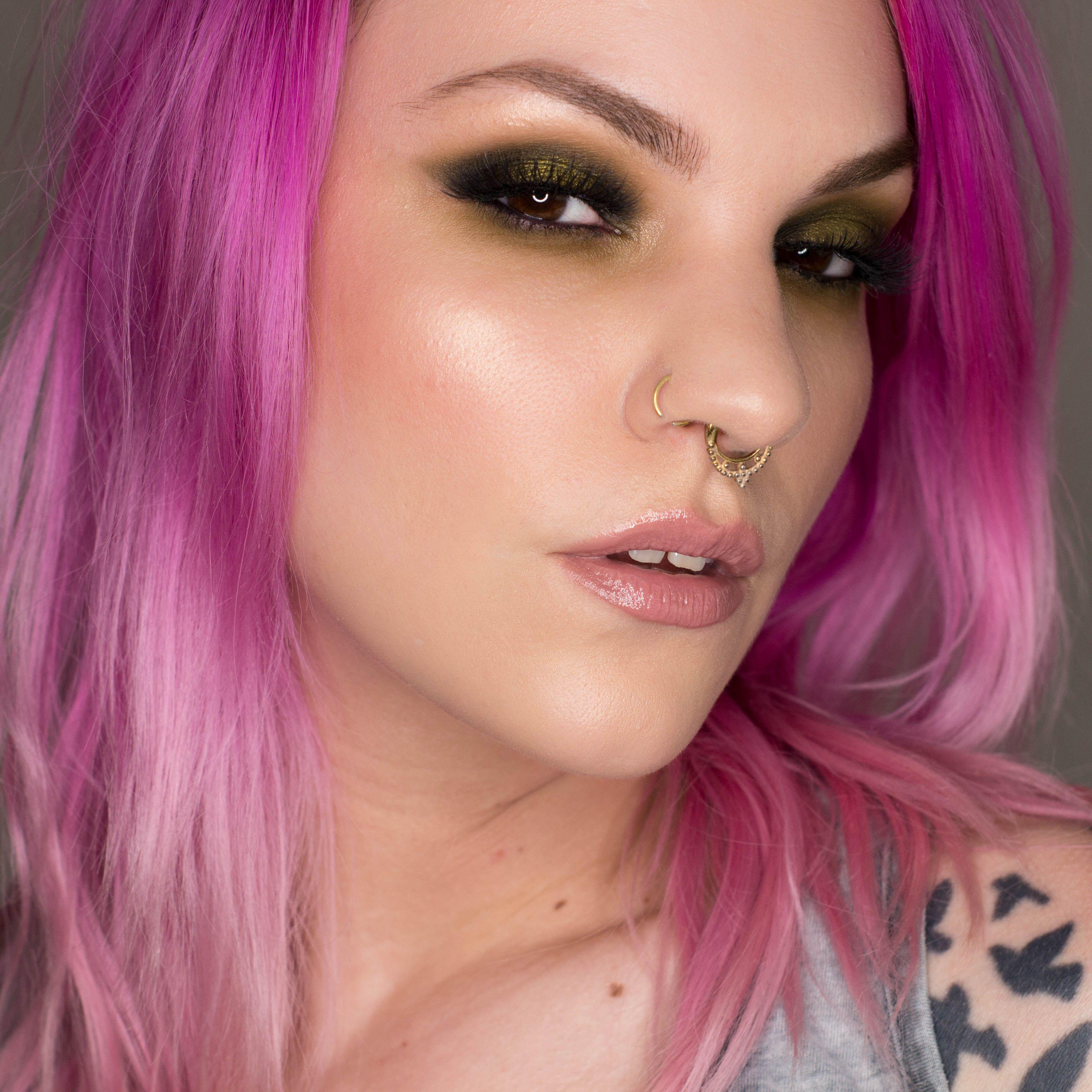Melt Cosmetics Gemini Palette Makeup for green eyes