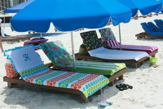Beach Towels That Won T Slide Down Your Chair Because The Top