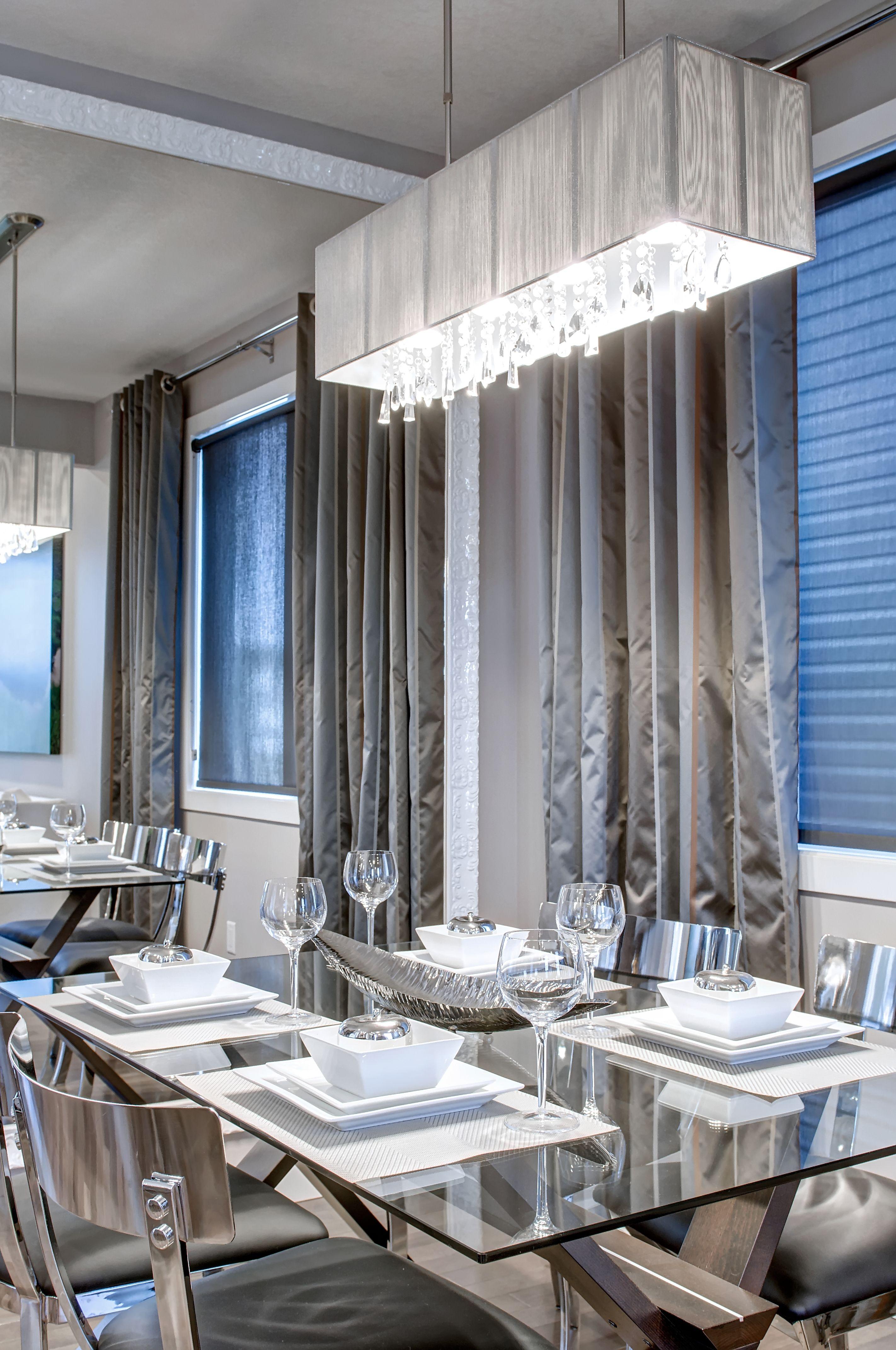 Dining room design from our showhome in evansridge calgary also rh za pinterest