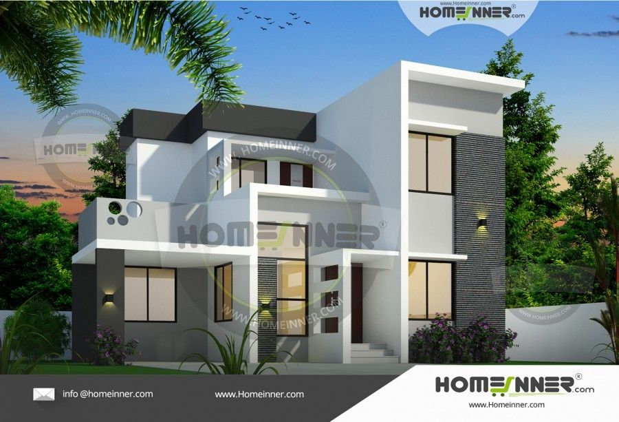 1187 Sq Ft 3 Bedroom Independent House Plan Free House Plans House Plans Architectural House Plans