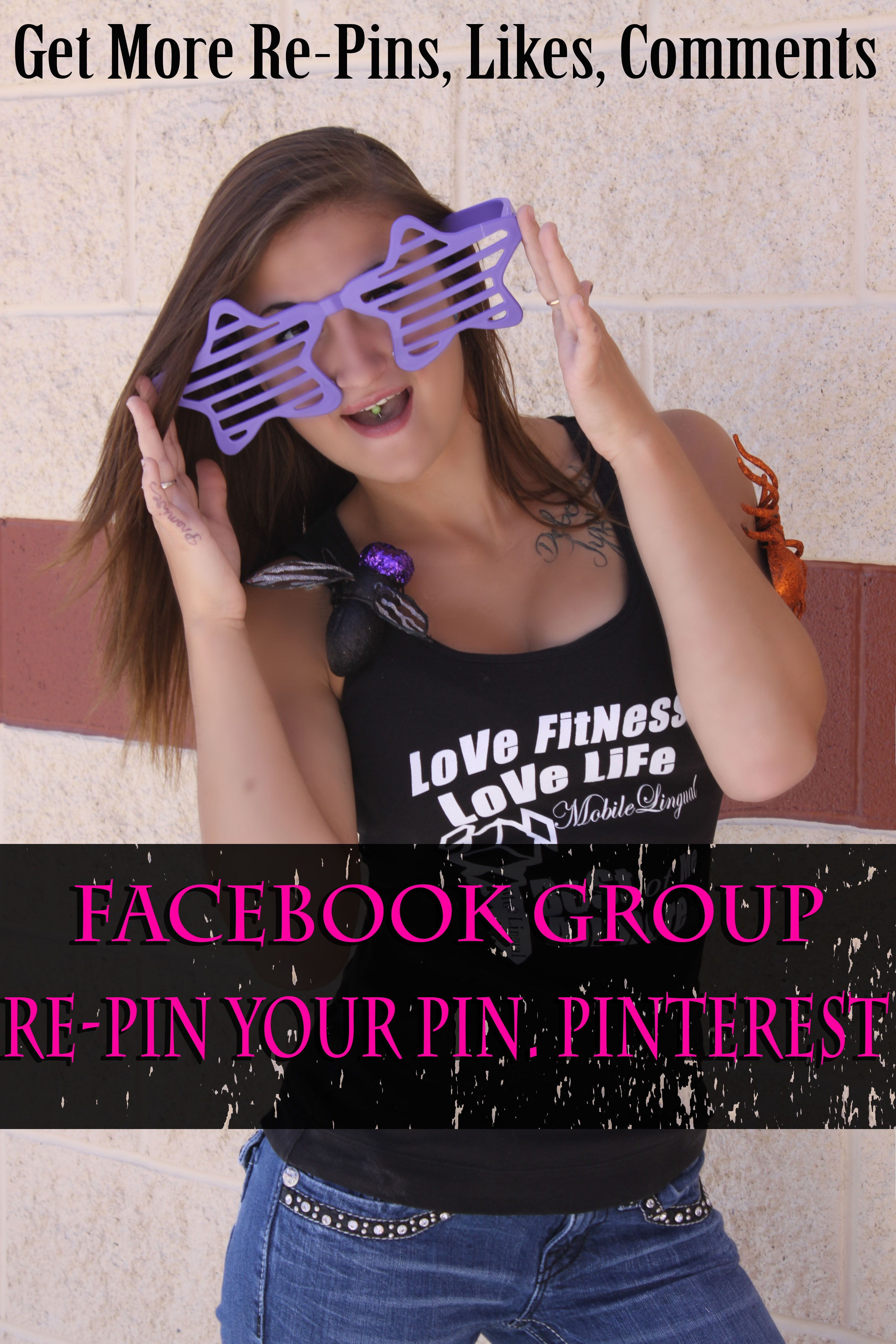 No one pins you Pins? Do you need a little boost to your Pinterest account? Going the Facebook group and share your pins with others! CLICK ON THE PICTURE