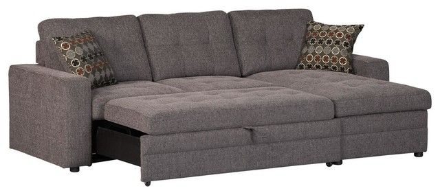 Pull Out Sofa Beds A Clever Solution For 2018 Stylish Homes