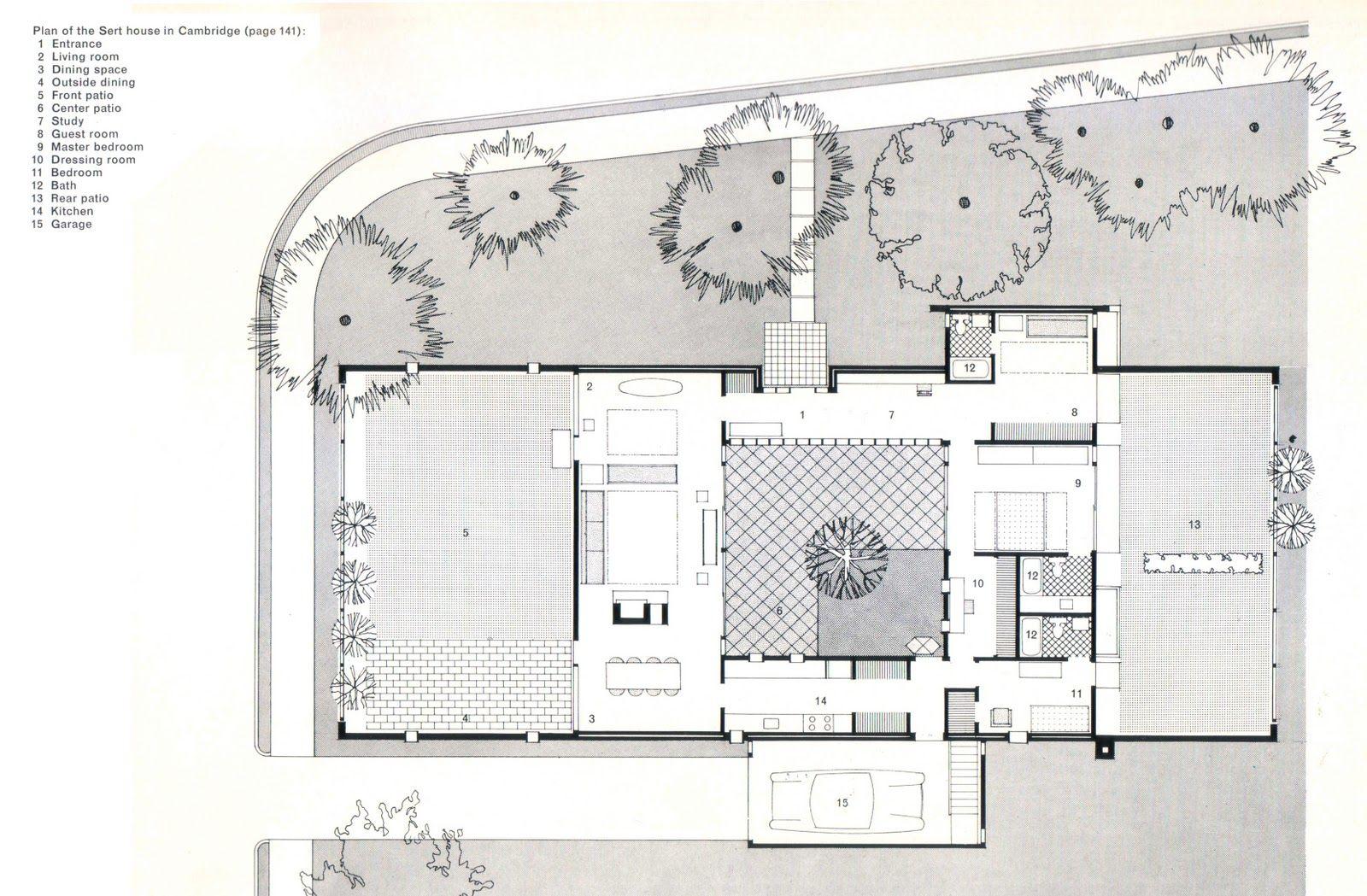 Casa sert patios typology architecture architecture - Arquitectos de interiores famosos ...