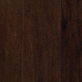 Masaya 6 12 In W X 4 52 Ft L Chocolate Maple Handscraped Laminate Wood Planks Vintage Hardwood Flooring Flooring Engineered Hardwood Flooring
