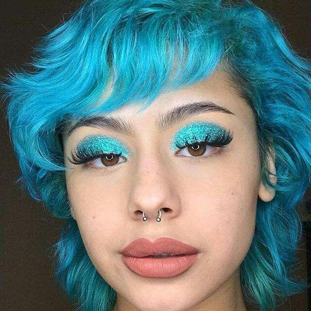 Colourful Hair And Makeup Lime Crime Cosmetics Anime Unicorn