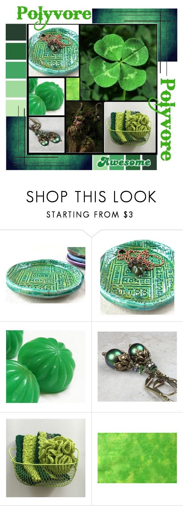 """""""Polyvore Green"""" by charmedbybonnie ❤ liked on Polyvore featuring WALL and Goliath"""