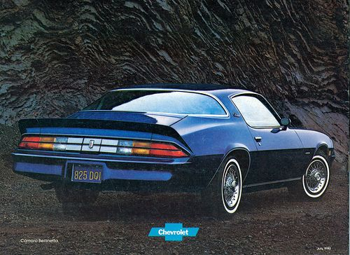 1981 Chevrolet Camaro Berlinetta Camaro Chevrolet Camaro Chevrolet