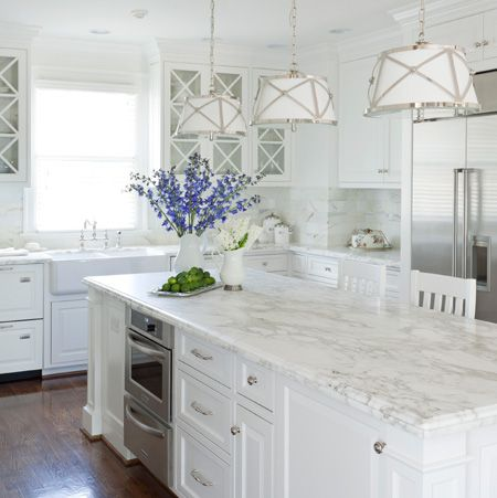 all white kitchen ideas - All White Kitchen Designs