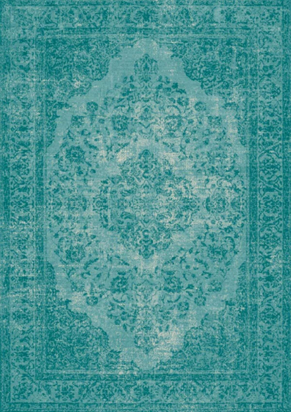 Vloerkleed Oriental Azuur Blauw Blauw Karpetten En