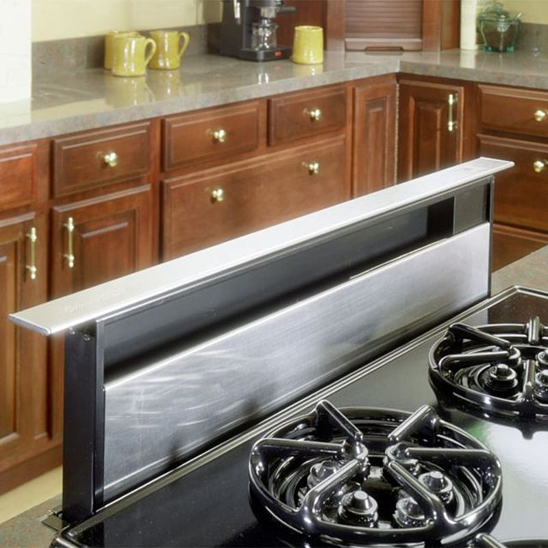 The Best Cattura Downdraft Can Technically Vent A Range It S Not Easy We Review What You Should Know Befor Kitchen Island Vent Modern Kitchen Kitchen Exhaust