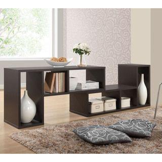 Modern Shelf baxton studio tillman dark brown/ espresso modern display shelf
