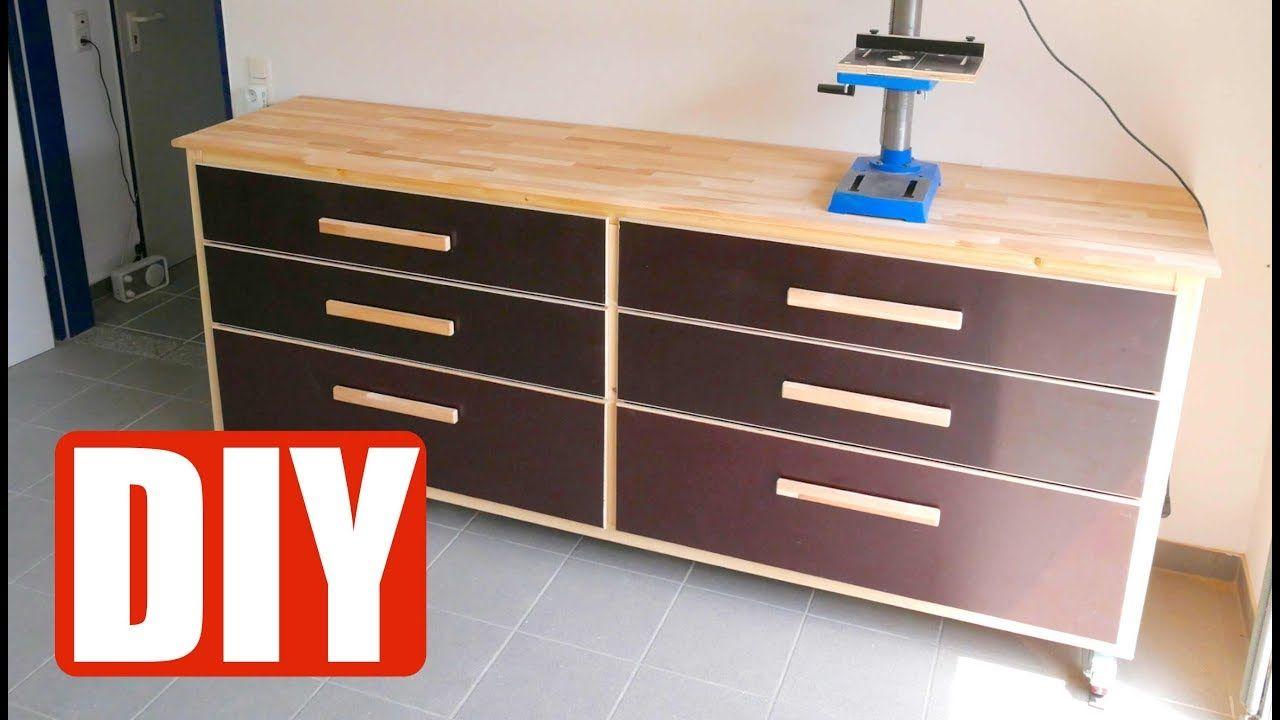 Diy Build A Workbench Werkbank Selber Bauen Anleitung