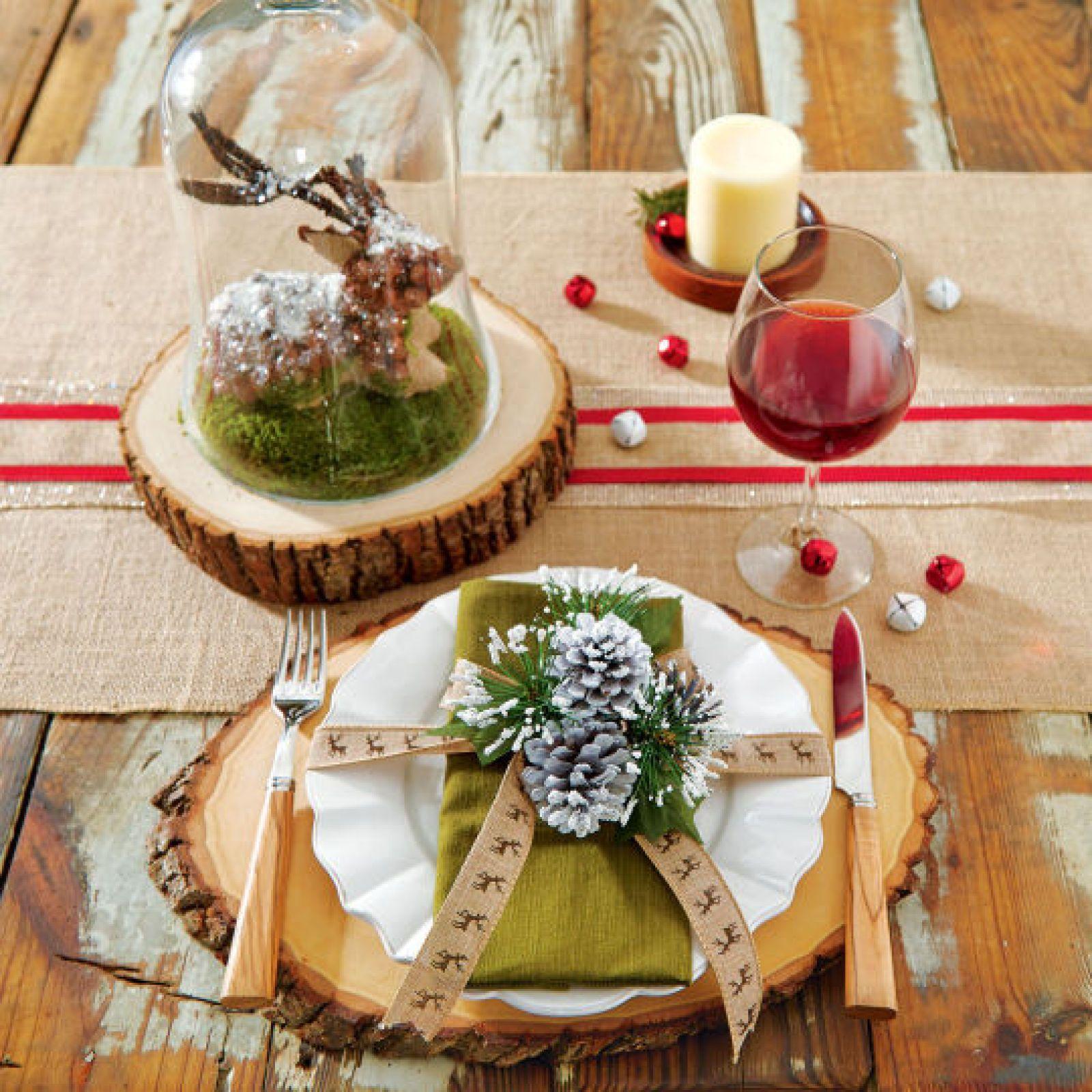 DIY Embellished Plate Tablescape