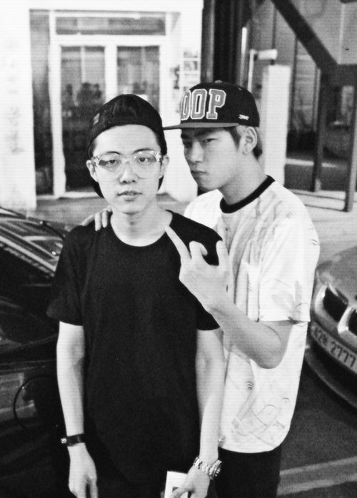Hong Si Yeong & Woo Ji Ho