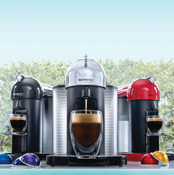 Check out Nespresso's new Vertuoline machines, available ...