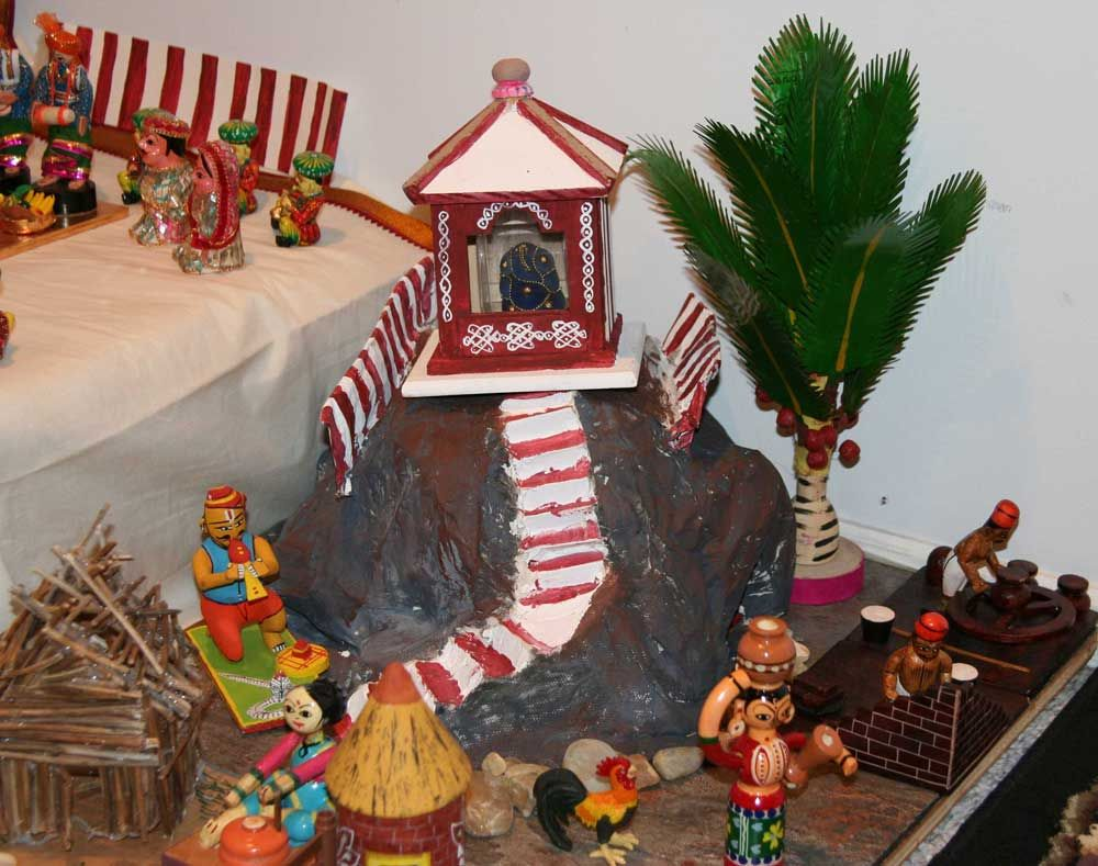 Beautiful Golu Theme Ideas And Decoration Part - 7: 2013 Special Themes For Navratri Golu Festival |Different Ideas For Kolu  |Modern And New
