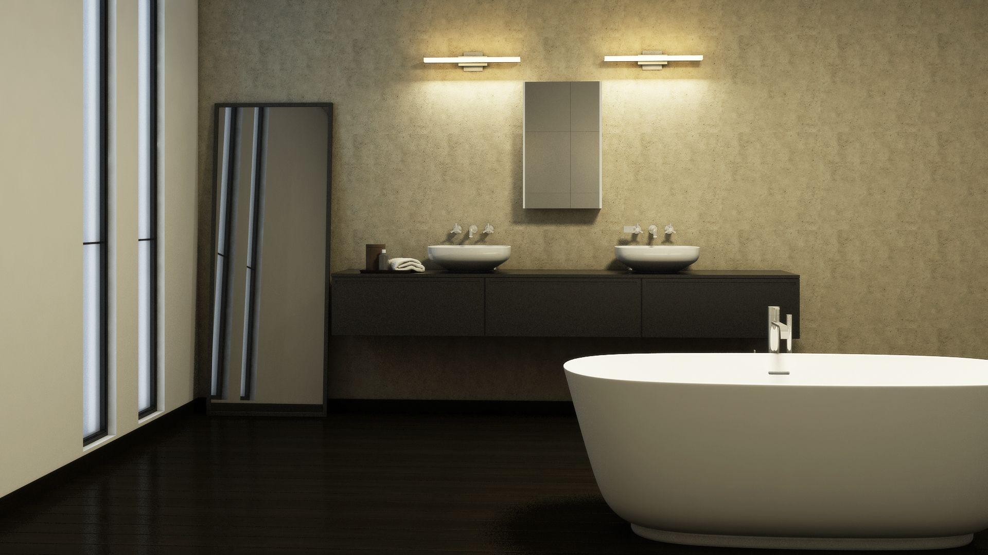 Procyon 18w led bathroom lighting fixture vonn lighting led procyon 18w led bathroom lighting fixture arubaitofo Image collections