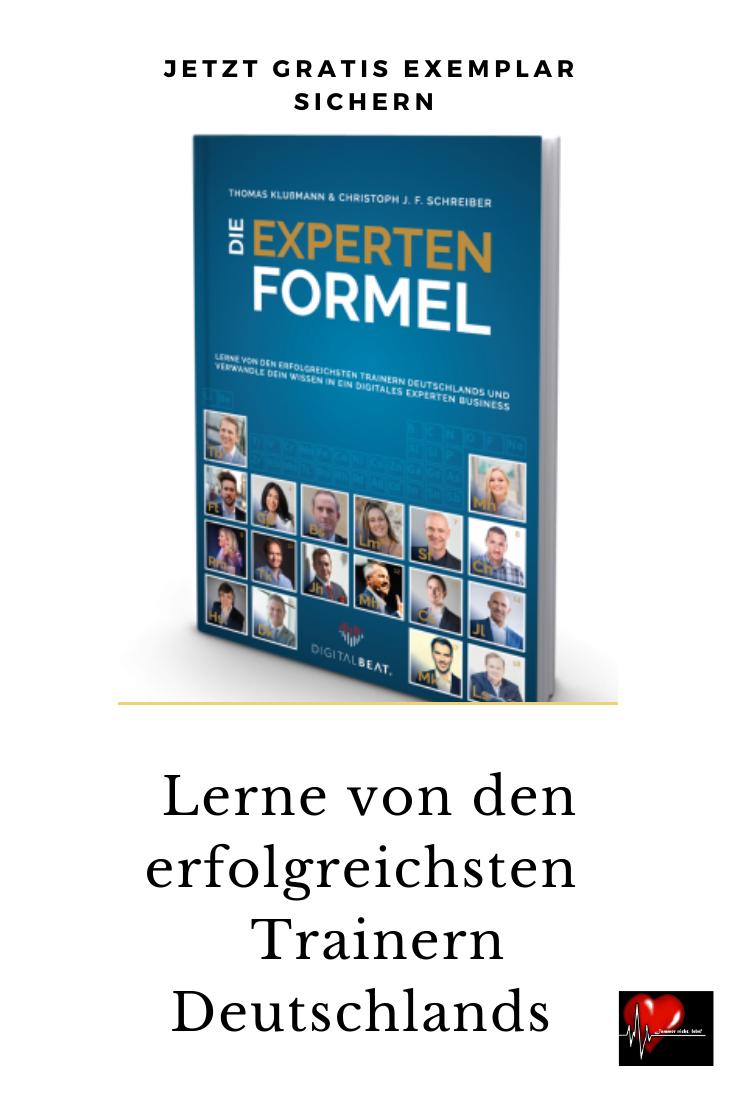 Die Experten Formel Von Thomas Klussmann Christoph J F Schreiber Grunder De Erfolgreich Lernen Jurgen Holler