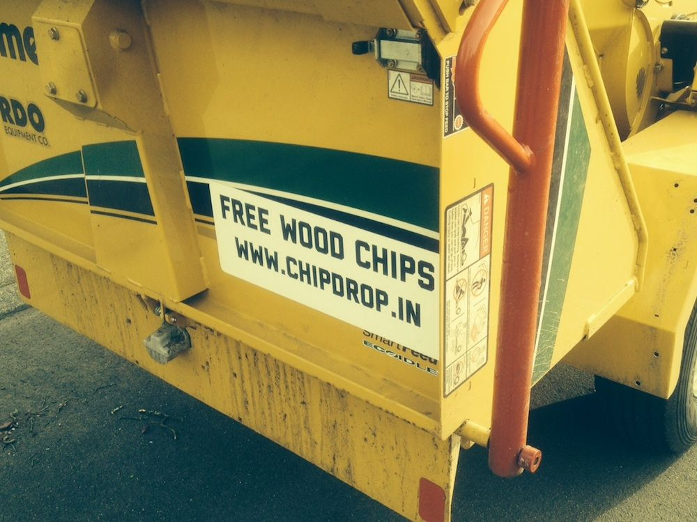 Chip drop how it works wood chip mulch cheap mulch chips