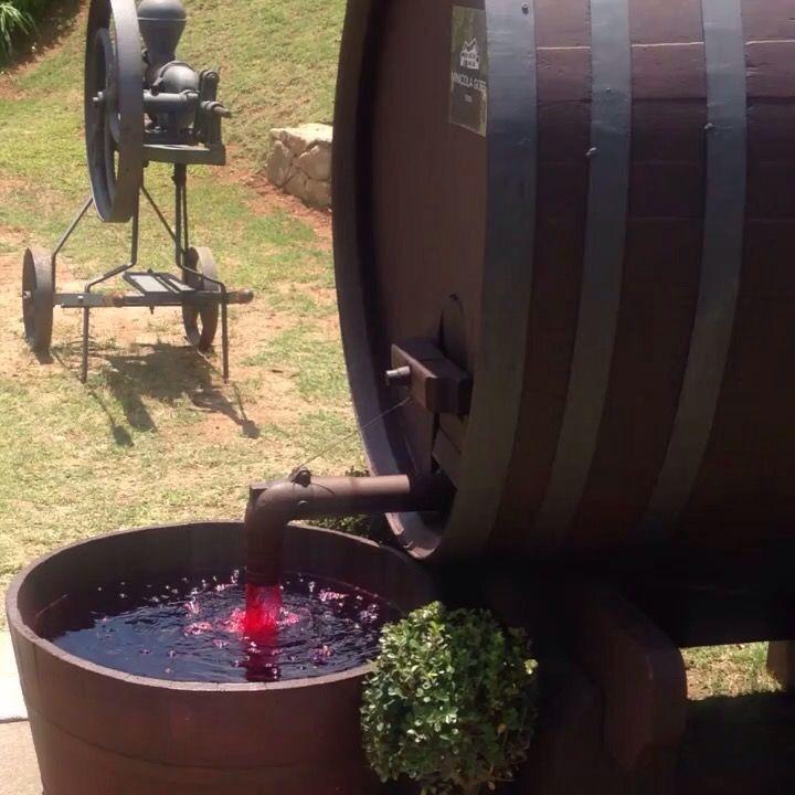 Che ne diresti di una #fontana di #vino nel #giardino di #casa? #passionforwine #wineathome