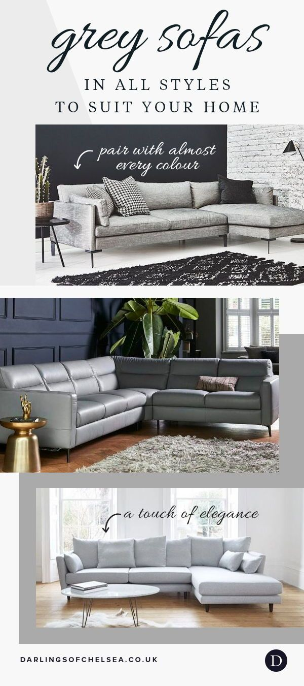 Top Five Modern Grey Corner Sofas Blog Darlings Of Chelsea Living Room Furniture Recliner Leather Corner Sofa Sofa Bed With Storage