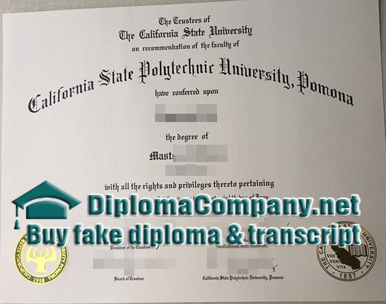 buy California State Polytechnic University diploma, California ...