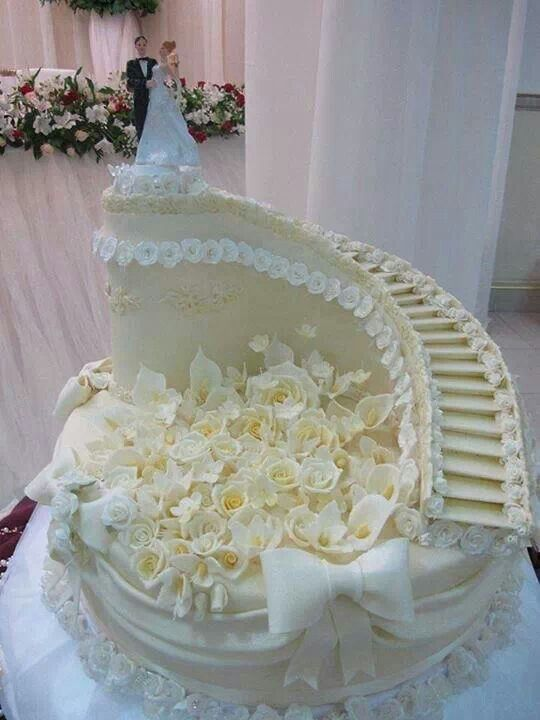 Nice Wedding Cakes With Stairs Cake