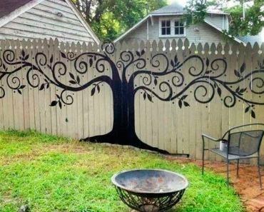 Here Are 15 People Who Took Their Backyard Fences To A Whole New Level. #8 Is Just Stunning