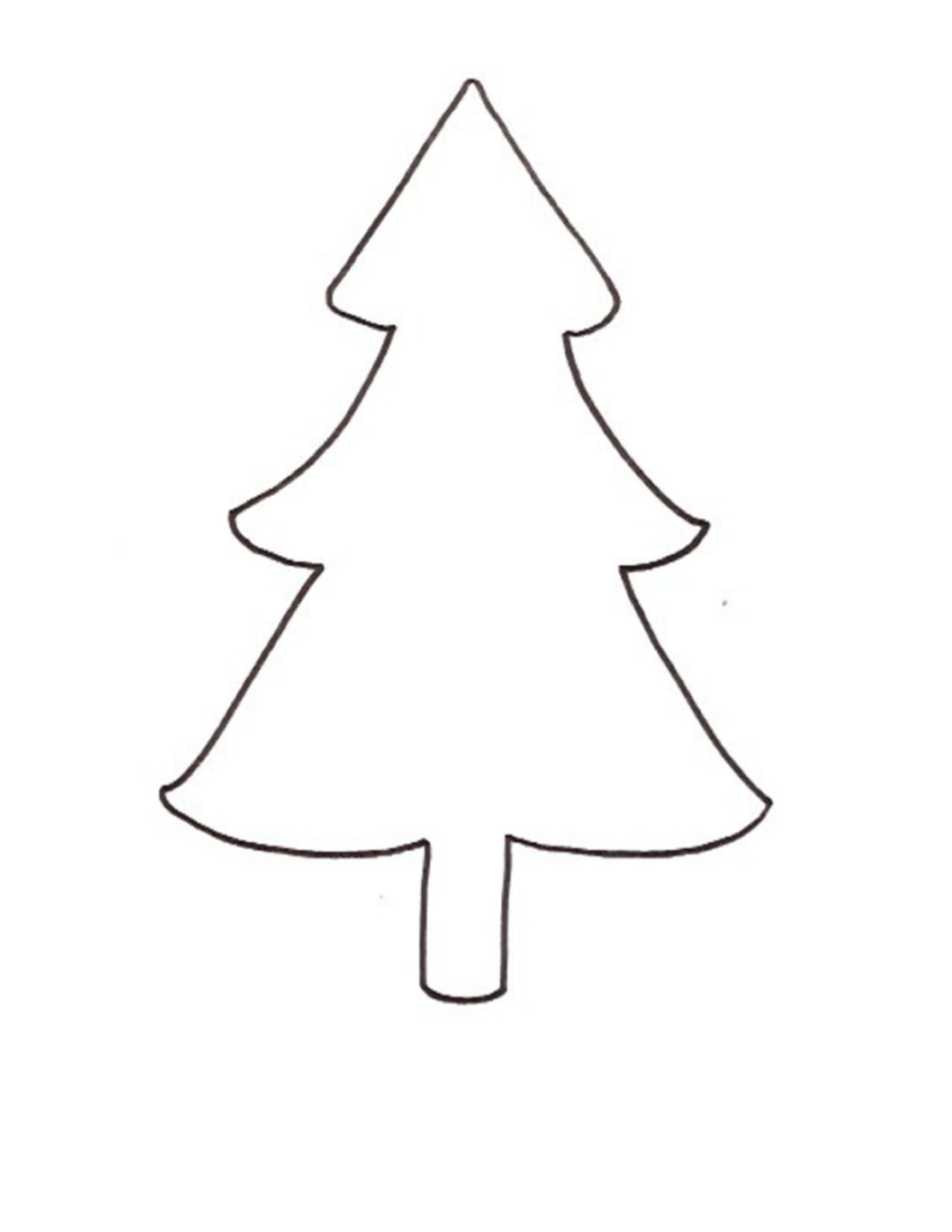 Christmas Tree 2 Pattern Free Download Christmas Coloring Pages