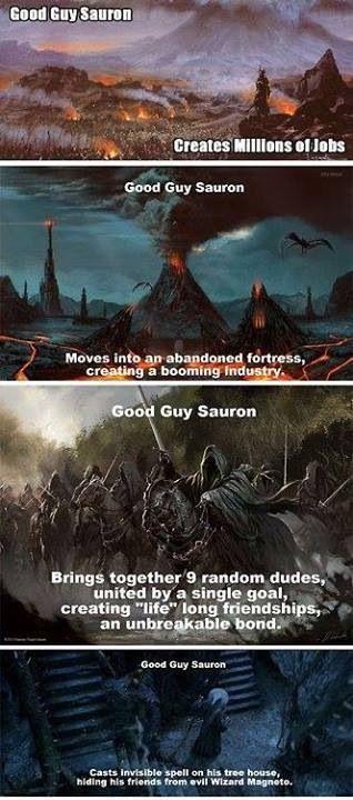 Саурон любовь секс