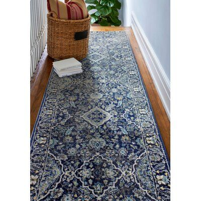 """Photo of Caton Floral Multicolor Area Teppich Teppich Größe: Runner 2'7 """"x 8 '"""