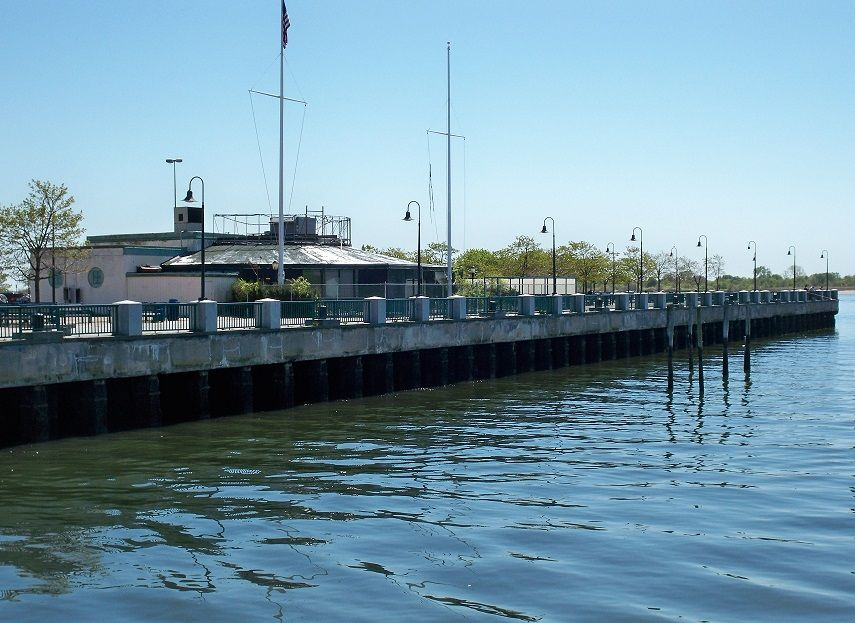 Canarsie pier gateway national recreation area brooklyn for Bay area fishing spots