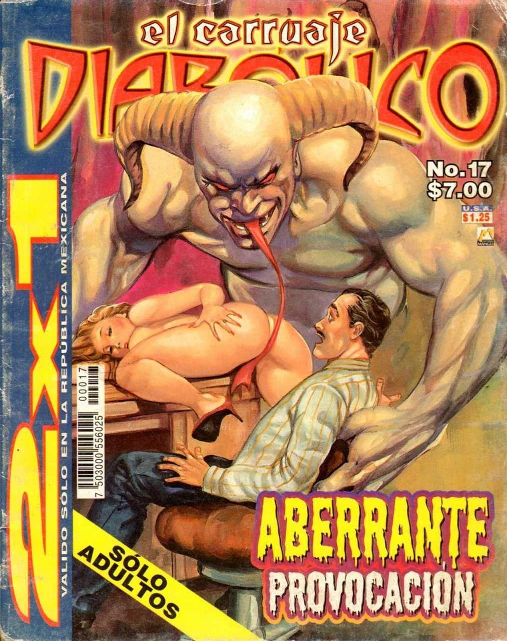 Mexican sexy comic art — photo 1