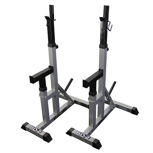 Amazon Com Valor Fitness Bd 2 Independent Bench Press Stands Pewter Sports Outdoors Bench Press Fitness Gift Guide Weight Rack