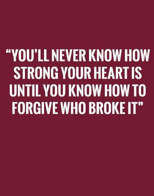 Never Know How Strong Heart   Tap to see more quotes on broken