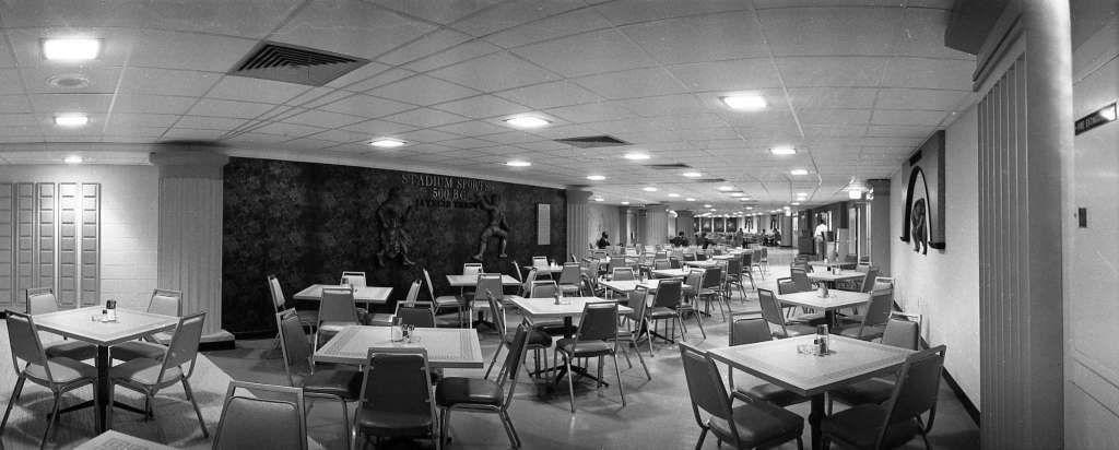 Countdown Cafeteria inside the Astrodome. Photo Houston
